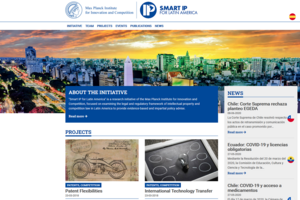 Smart IP for Latin America (SIPLA) hat eine eigene Website