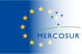 EU-Mercorsur Flags symbolizing the treaty