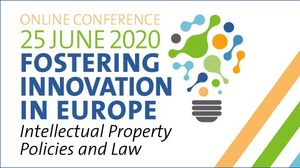 "An der Online-Konferenz ""Fostering Innovation in Europe - Intellectual Property Policies and Law"" von der EIPIN Innovation Society und EUIPO nahmen Josef Drexl,Niccolò Galli, Vicente Zafrilla Diaz-Marta und Letizia Tomada teil"