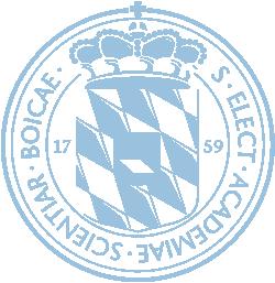 Logo der Bayerischen Akademie der Wissenschaften
